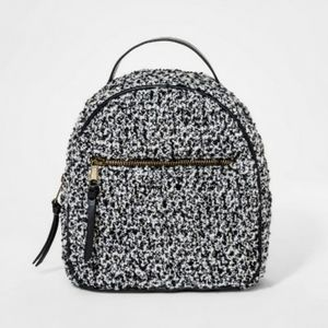 Girls' Quilted Mini Backpack